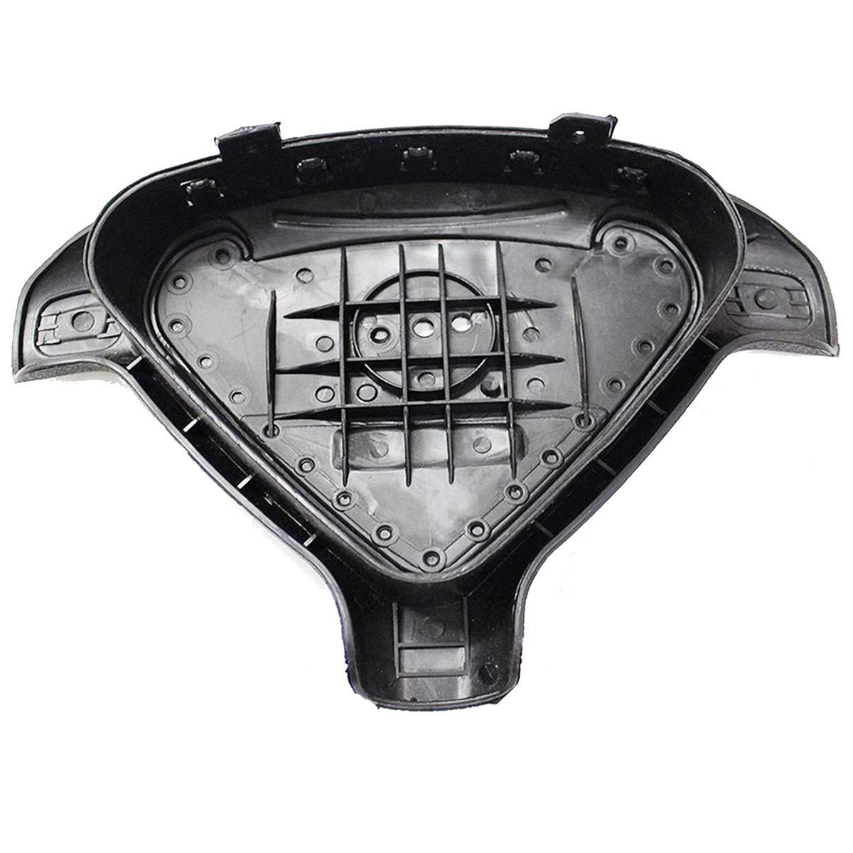 Black Cover SRS Pommeau de volant pour airbag
