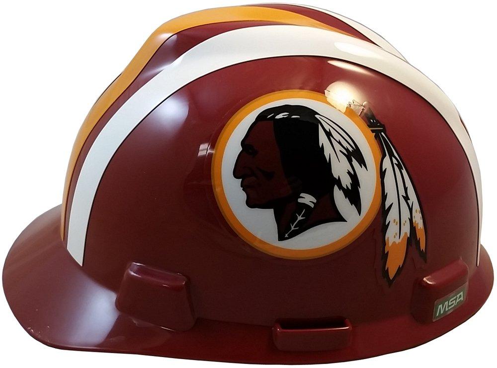 MSA NFL Ratchet Suspension Hardhats - Washington Redskins Hard Hats by MSA (Image #2)