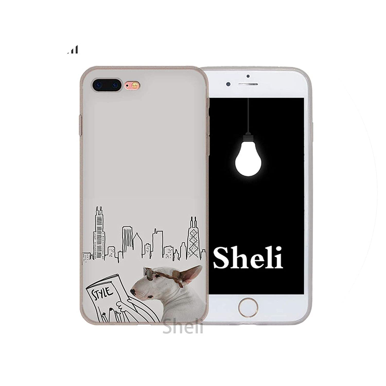 Amazon.com: Bull Terrier Bullterrier - Carcasa para iPhone X ...