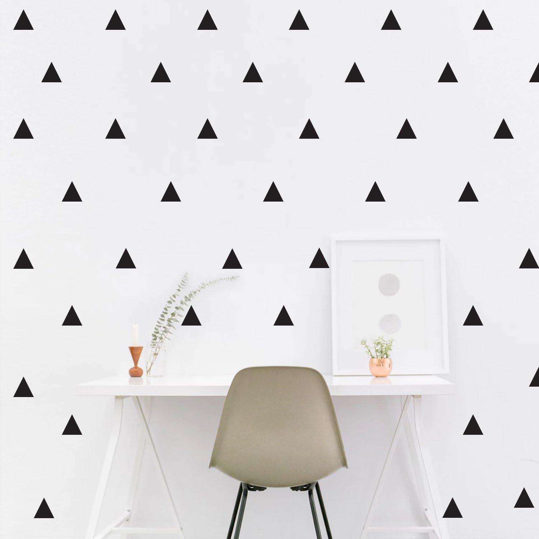 Mini DIY Decor Children Vinyl Stickers Home Decals Wall Sticker Triangle Decal