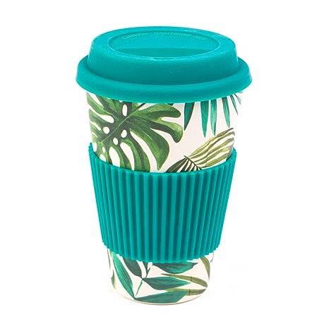 Cambridge cm05918 Eco taza de viaje de la Polinesia francesa, bambú, turquesa, 9