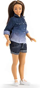 Lammily Exclusive Doll - Fashion Collector's Doll - First Edition - Curvy