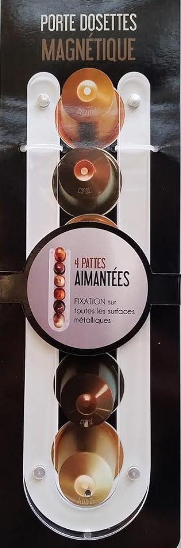 Support capsules Porte dosettes Nespresso en plexiglass magn/étique