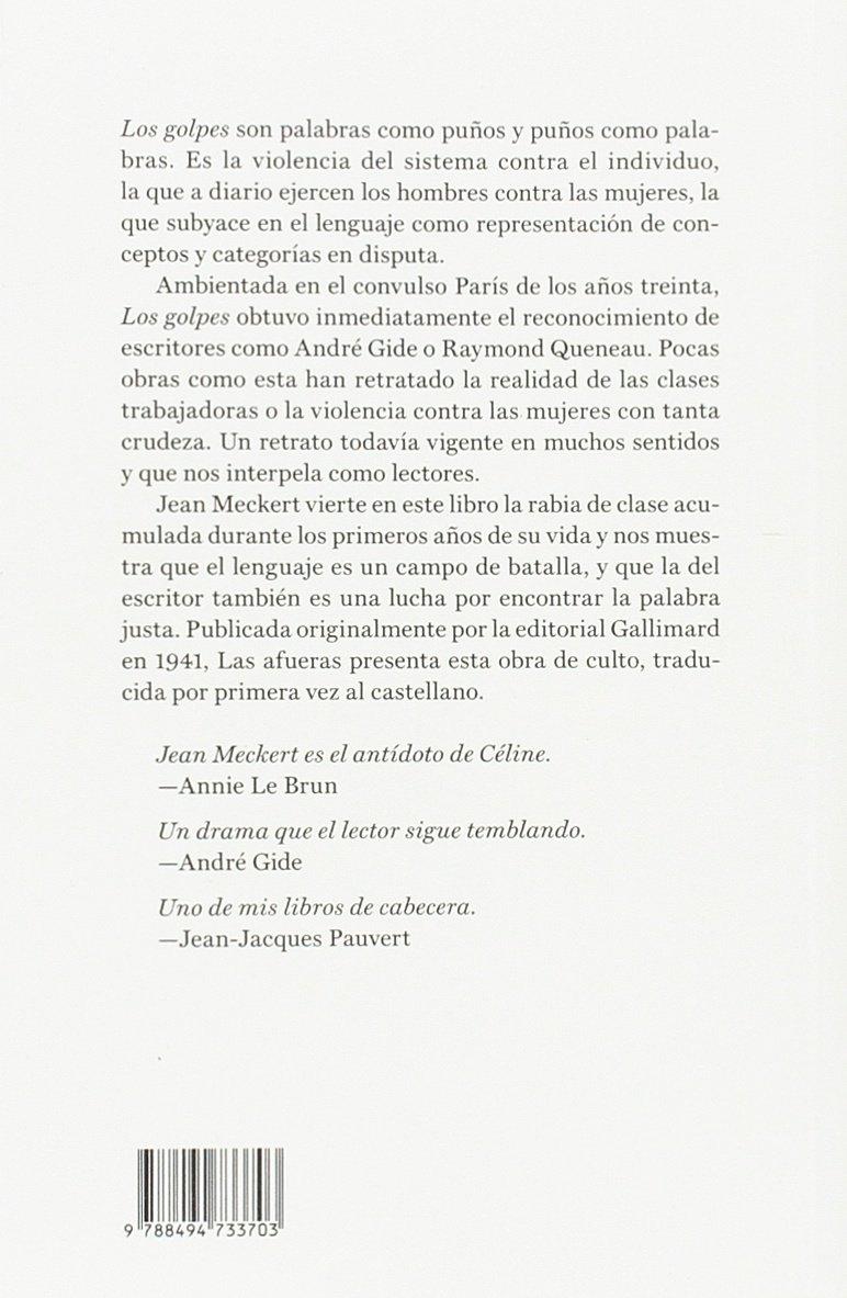 Los golpes [Próxima aparición]: Jean Meckert: 9788494733703: Amazon.com: Books