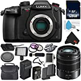 Panasonic Lumix DC-GH5S Mirrorless Micro Four Thirds Digital Camera International Version (No Warranty) + Panasonic Lumix G Vario 45-150mm Lens (International Version) Bundle