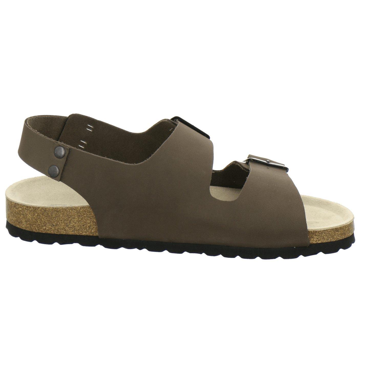 AFS-Schuhe 310578, Made Sandale Herren, Hochwertiges, echtes Leder, Made 310578, in Germany Asphalt e8e806