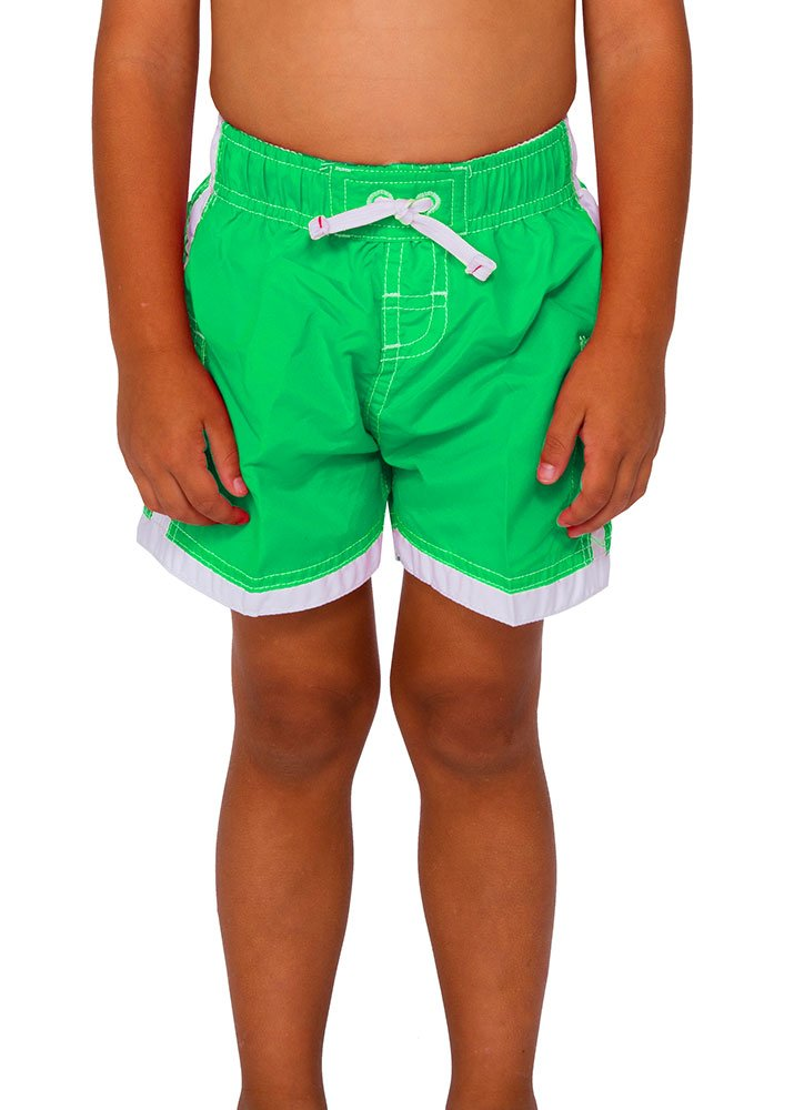 INGEAR Boys Quick Dry Swim Trunks Cargo Water Shorts With Mesh Lining (Green, 12/14) by INGEAR (Image #7)