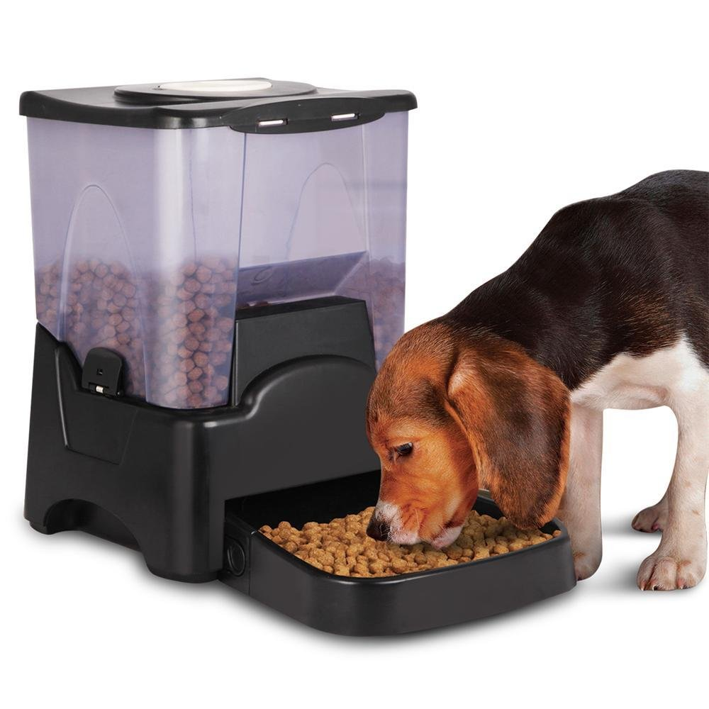 Yaheetech 10.6L Capacity Automatic Dog Feeder for Large to Small Dogs