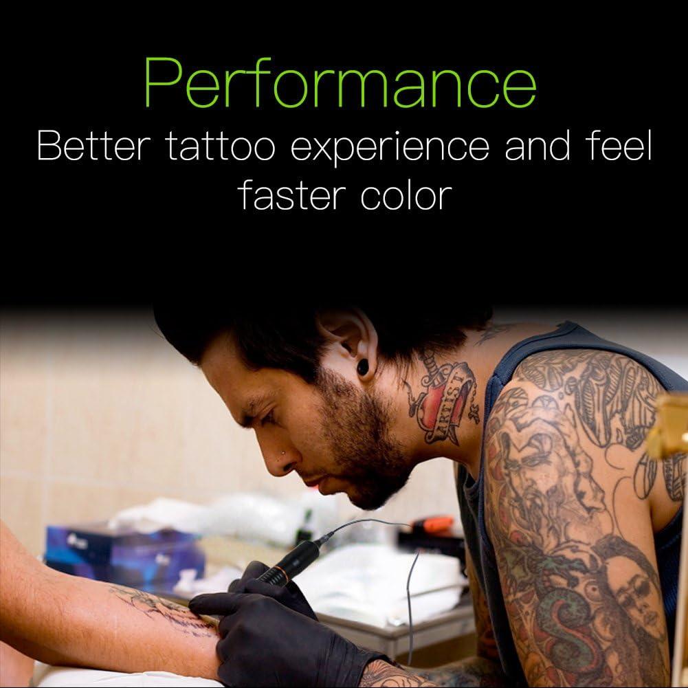 Tattoo Rotary Machine Gun Tattoo Pen Permanent Tattoo Machine Supply (Red): Amazon.es: Belleza