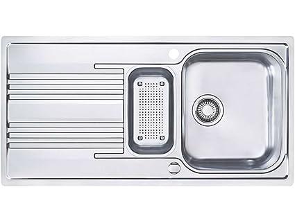 Franke Smart SRX 651 lavello in acciaio liscio da cucina lavandino ...