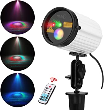 Swimming Pool Portable Laser Light for Camping Outdoor Party Garden Light