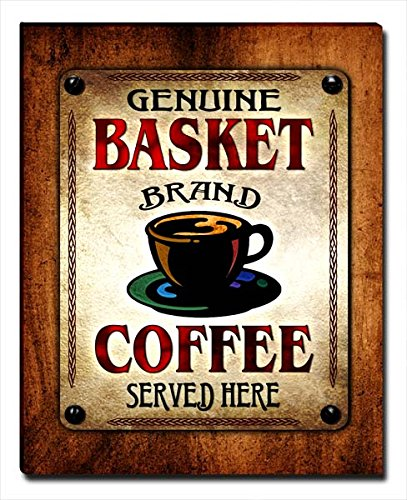 ZuWEE Basket Family Coffee Gallery Wrapped Canvas Print