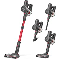 NEQUARE Cordless Vacuum Cleaner, 175W Stick Vacuum Cleaner with Self-Standing, Root Cyclone Technology, 40mins Long…
