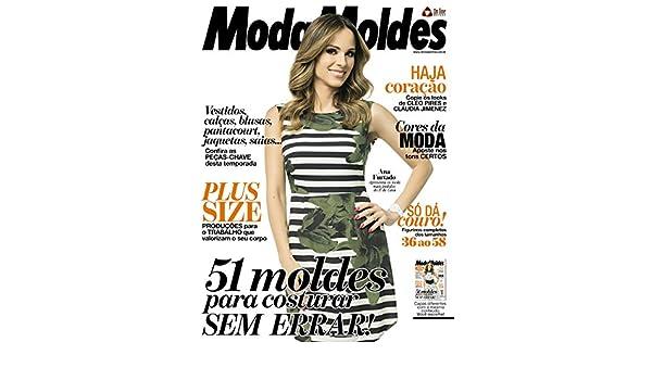 Moda Moldes Ed.86 (Portuguese Edition) eBook: On Line Editora: Amazon.es: Tienda Kindle
