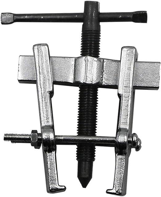 Funnyrunstore 65MM Dos mand/íbulas Extractor de Engranajes Cojinete de Armadura de Acero al Carbono Extractor de rodamiento en Espiral Herramientas de extracci/ón Tecnolog/ía de Forjado