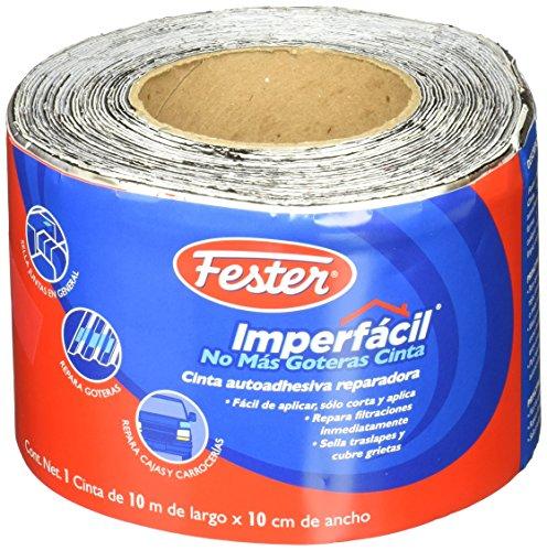 Fester 2065829 Cinta Impermeable Autoadhesiva Imperfácil, No Más Goteras