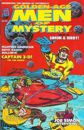 Download Golden-Age Men of Mystery #15 pdf