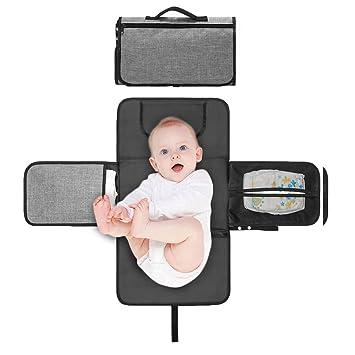 Amazon.com: pensenion portátil cambio de pañales Pad con ...