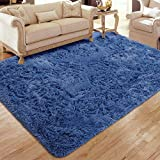 Flagover Soft Fluffy Modern Living Room Area Rugs