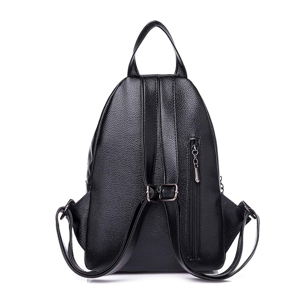 COPPEN Woman Multi-Function Backpack Soft Leather Anti-Theft Personality Small Backpack