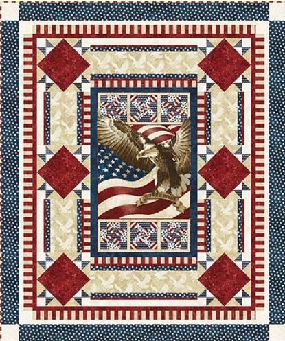 Amazon Northcott Flight Of The Eagle Quilt Of Valor Pattern
