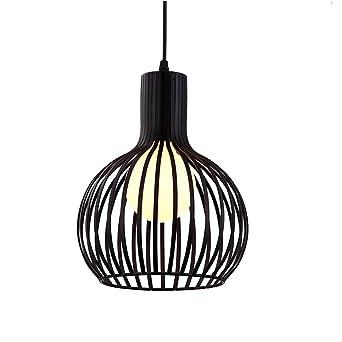 Suspension Luminaire Industrielle E27 Lustre Plafonnier Vintage Abat Jour En Métal Cage Lampes 23cm éclairage Cuisine Salle à Manger Salon Chambre