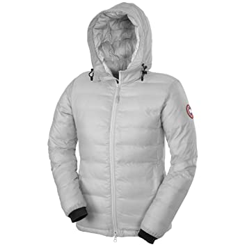 canada goose camp down hoodie women s silverbirch xxl amazon ca rh amazon ca