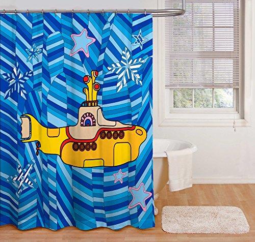 Bravado Beatles Yellow Submarine Blue Shower Curtain