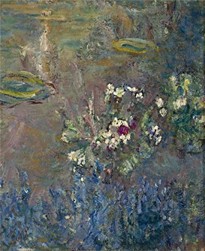 Oil Painting 'Claude Monet - The Waterlilies, 1918', 20 x 25 inch / 51 x 62 cm , on High Definition HD canvas prints is for Gifts And Basement, Bath Room And Home Theater Decoration, home