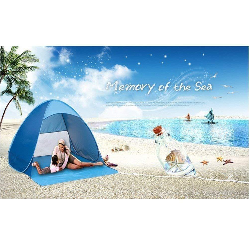GD.SS - Tienda de campaña automática para la Playa, Color Azul: Amazon.es: Deportes y aire libre