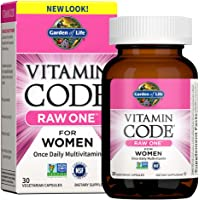Garden of Life Multivitamin for Women, Vitamin Code Raw One for Women, Once Daily Women's Multi - 30 Capsules, One a Day…