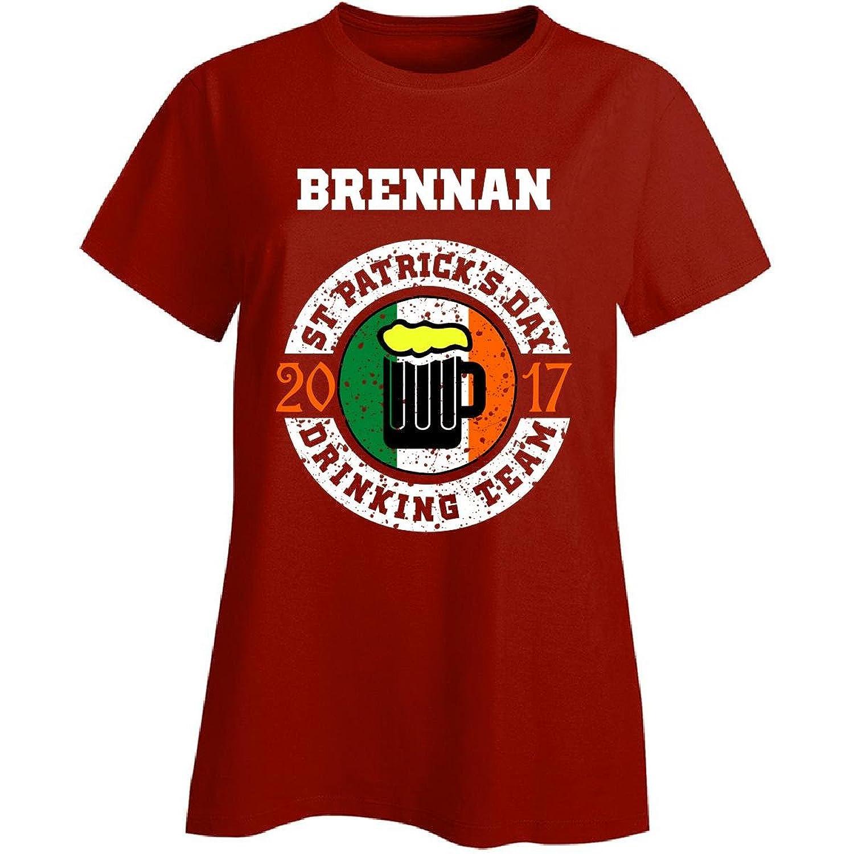 St Patricks Day Brennan 2017 Drinking Team Irish - Ladies T-shirt