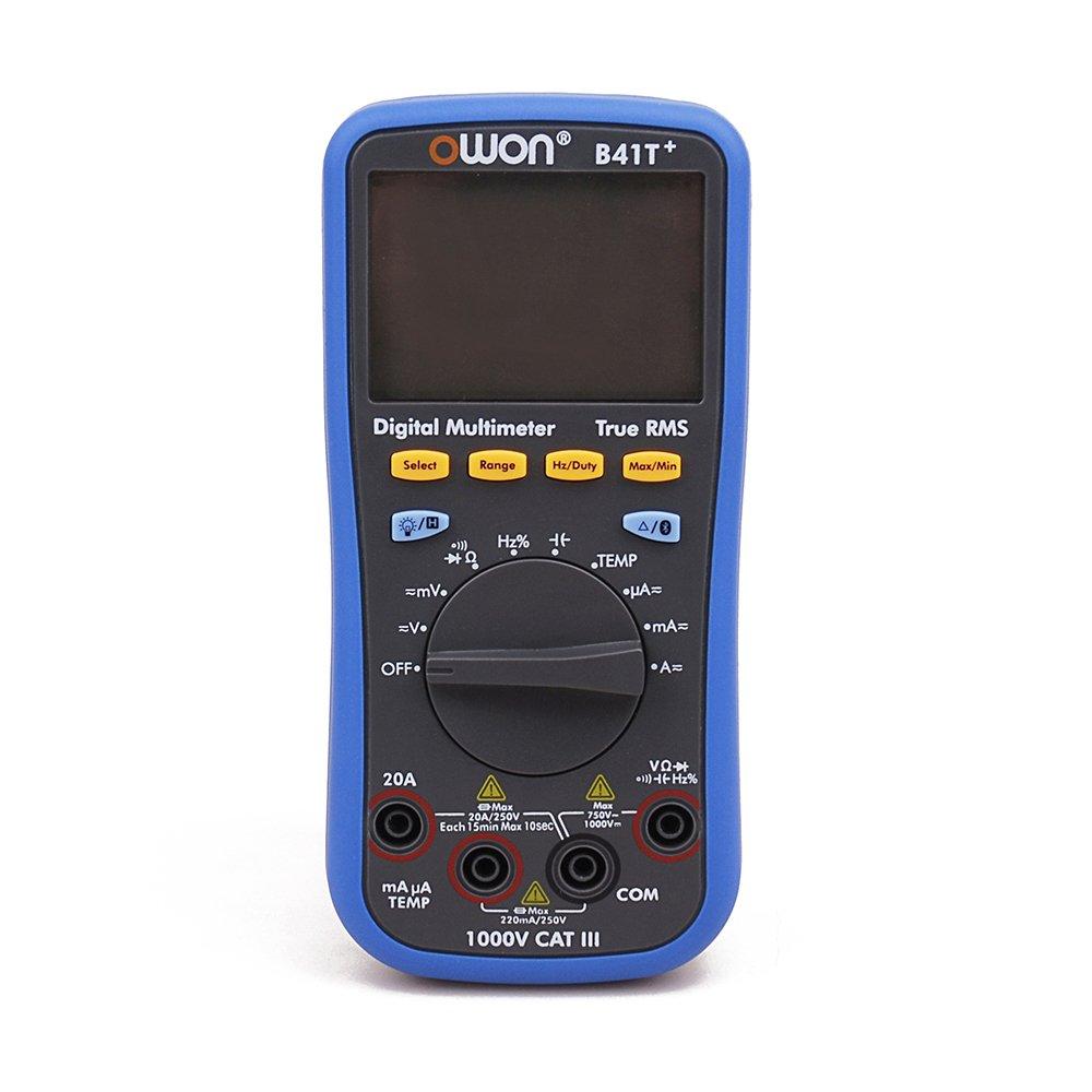 OWON B41T+ 4 1/2 デジタルマルチメーター Bluetooth 真のRMSバックライトテストメーター   B07CNH55FK