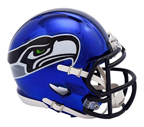 2138847c5 Image Unavailable. Image not available for. Color  Riddell SEATTLE SEAHAWKS NFL  Revolution SPEED Mini Football Helmet