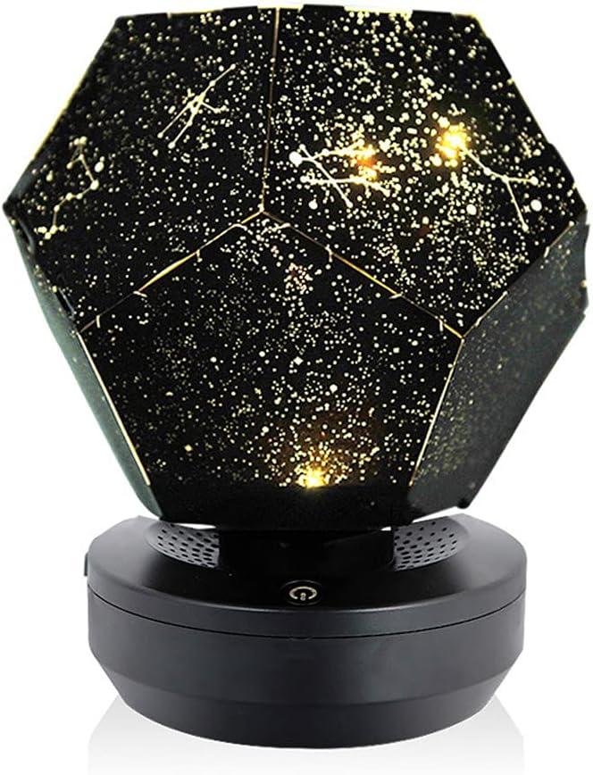 Star Projector, Galaxy Projector Starry Night Light Projector, Christmas 60000 Stars Starry Sky Projector Light, DIY Assembly Home Planetarium Lamp Bedroom