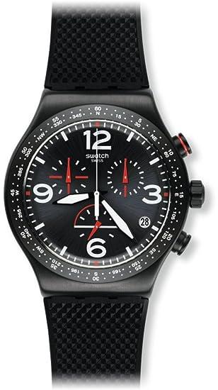 Swatch Reloj Digital para Hombre de Cuarzo con Correa en Caucho YVB403: Amazon.es: Relojes