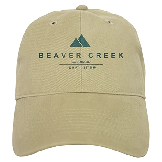 7a08ec959 CafePress Beaver Creek Ski Resort Colorado Baseball Cap