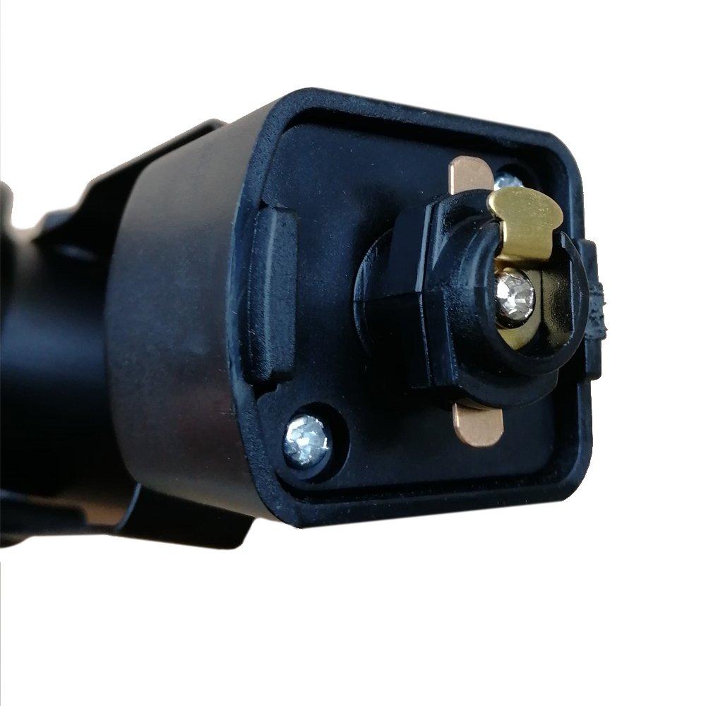 King SHA Universal LED Track Lighting Heads with MR16 GU10 led Spotlight Bulb 50W Halogen Equivalent 3000k Black by KING SHA (Image #1)