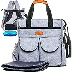 Designer Diaper Bag Backpack & Stroller Straps