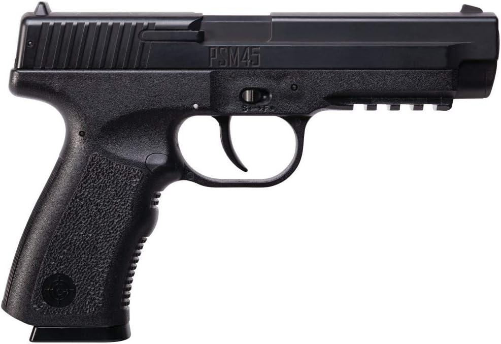 Crosman PSM45 Spring-Powered Single Shot Metal Slide BB Air Pistol : Sports & Outdoors