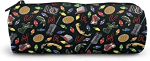 Pencil Case Large Capacity Stranger Things Pen Bag Office Stationery Bag Cosmetic Bag