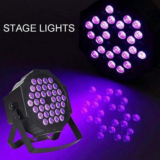ZC Dawn Luz de Fiesta Disco, Luces de Escenario LED púrpuras, Mini ...