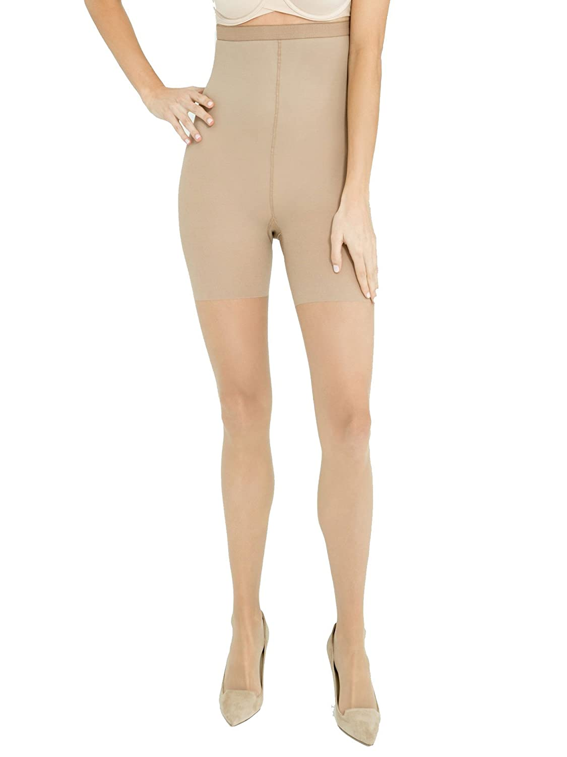 c037c238e4134 SPANX Womens Luxe Leg 15 Denier High-Waisted Sheers - Nude: Amazon.ca:  Clothing & Accessories