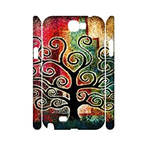 TOSOUL Tree of Life Customized Hard 3D Case For Samsung Galaxy Note 2 N7100