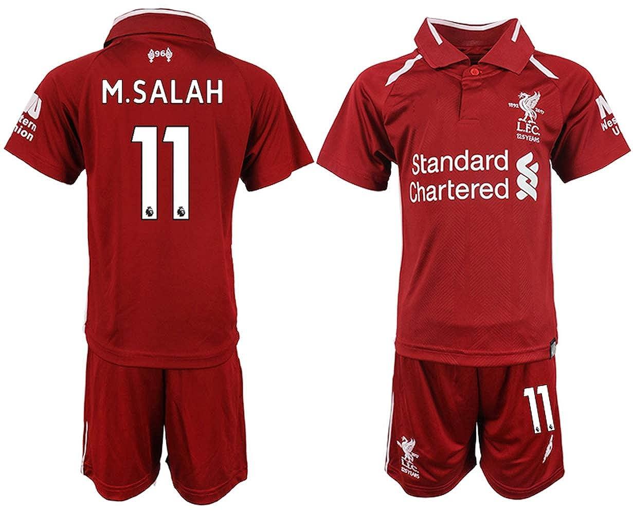 2018/19 New Liverpool M.Salah Kid's Soccer Jersey
