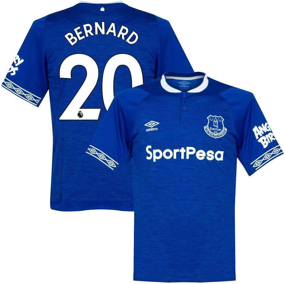 Umbro Everton Home Bernard 20 - Camiseta Oficial de la ...