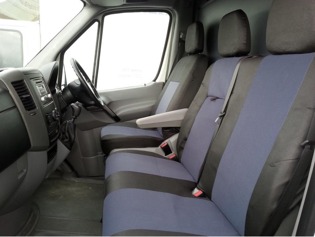 Amazon.es: Fundas de asiento de tela, de Flexzon, 2 más 1, color gris y negro, personalizable