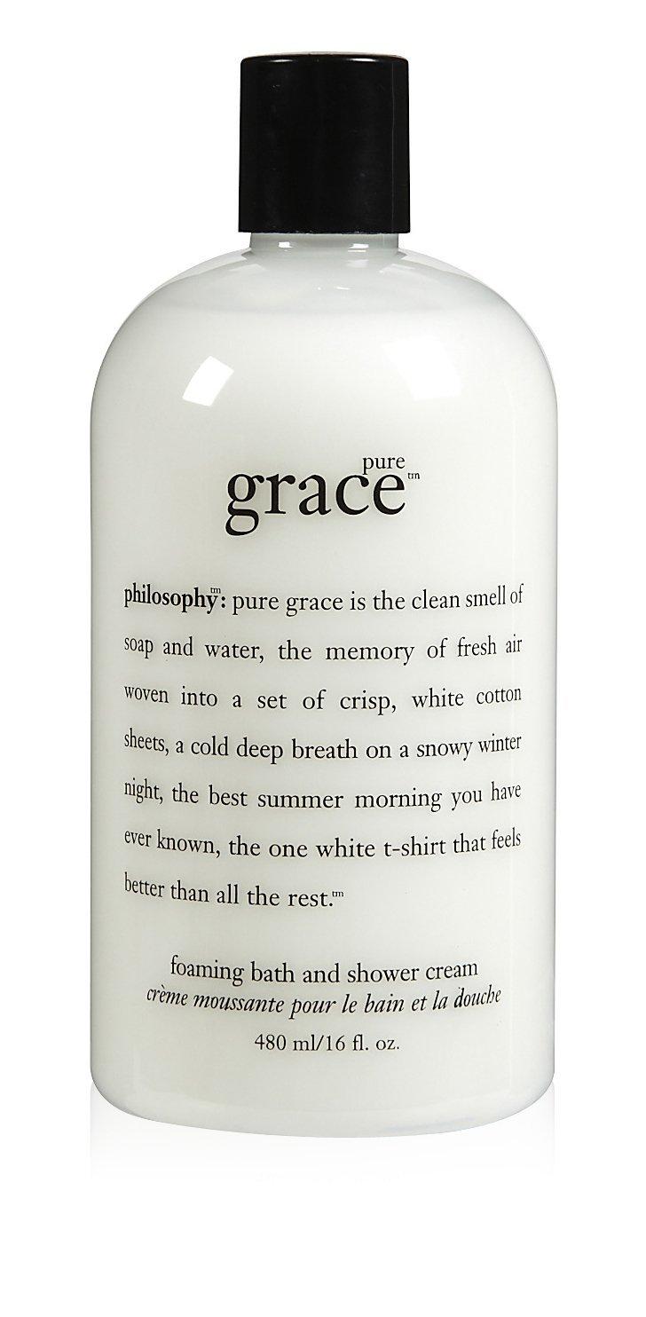 amazon com philosophy pure grace shampoo bath shower gel 16 amazon com philosophy pure grace shampoo bath shower gel 16 ounces bath and shower gels beauty