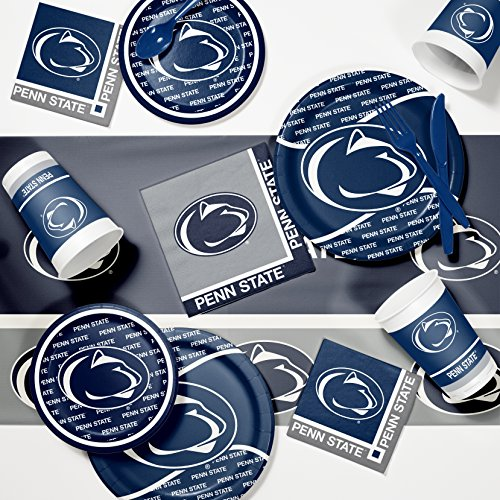 Ncaa Party Kit (Penn State University Game Day Party Supplies Kit)