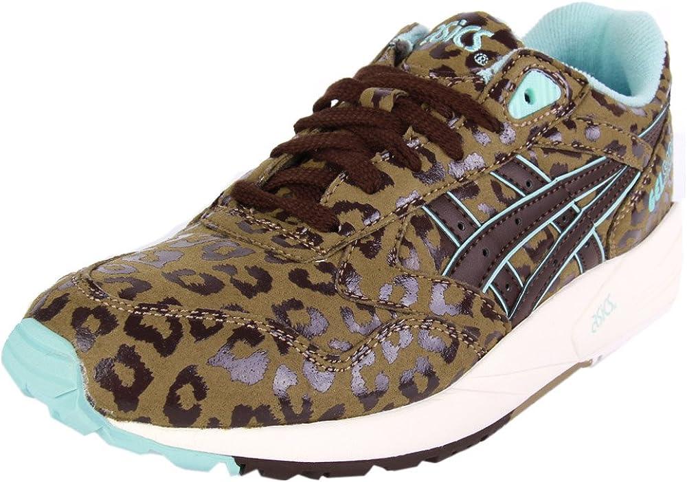 Gel Saga Leopard Suede Trainer